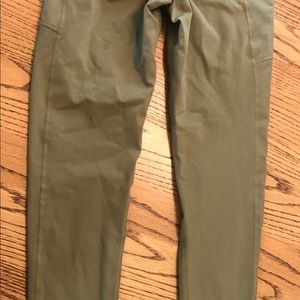 BuffBunny Pants - BuffBunny olive green high waisted leggings